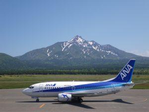 ANA千歳・利尻線 6月16日より運行開始