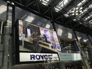 新千歳空港内 巨大スクリーンにNew Ver.が上映される?!